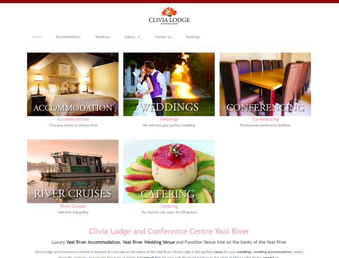 "<span style=""font-size: 12pt;"">Clivia Lodge Conference Centre - <a title=""Website design by Nabis Visual Design"" href=""http://www.clivialodge.co.za"" target=""_blank""> Visit Site</a></span>"